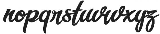 Miliki otf (400) Font LOWERCASE