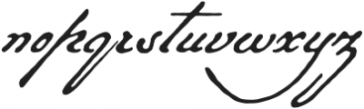 Military Scribe otf (400) Font LOWERCASE
