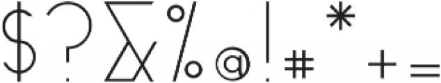 Milk otf (300) Font OTHER CHARS