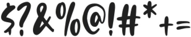 MilkBath otf (400) Font OTHER CHARS