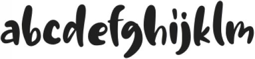 MilkBath otf (400) Font LOWERCASE