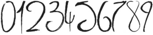 Milkshake Script otf (400) Font OTHER CHARS
