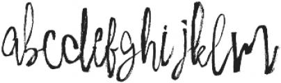 Milkshake Script otf (400) Font LOWERCASE