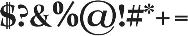 Milky Soft otf (400) Font OTHER CHARS