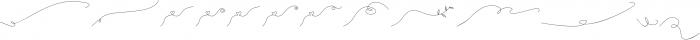 Milkytwins Swashes otf (400) Font LOWERCASE