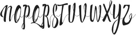 Milkytwins otf (400) Font UPPERCASE