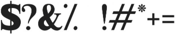 Millenia otf (400) Font OTHER CHARS