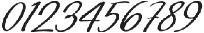 Millenial Italic Italic otf (400) Font OTHER CHARS