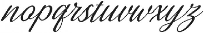 Millenial Italic Italic otf (400) Font LOWERCASE