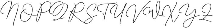 Millenial otf (400) Font UPPERCASE