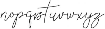 Millenial otf (400) Font LOWERCASE