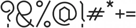 Millennium Regular otf (400) Font OTHER CHARS