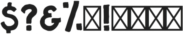Miller Bold otf (700) Font OTHER CHARS