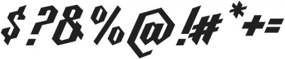 Millie Bold otf (700) Font OTHER CHARS