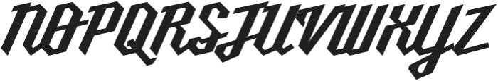 Millie Bold otf (700) Font UPPERCASE