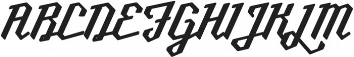 Millie Round SemiBold otf (600) Font UPPERCASE