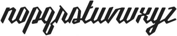Millie Round SemiBold otf (600) Font LOWERCASE