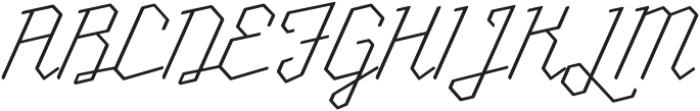 Millie Round Thin otf (100) Font UPPERCASE