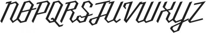 Millie otf (400) Font UPPERCASE