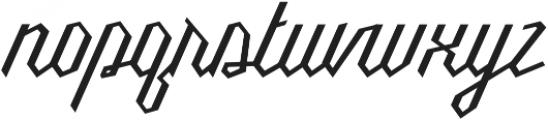 Millie otf (400) Font LOWERCASE