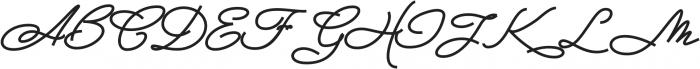 Mina Heavy otf (800) Font UPPERCASE
