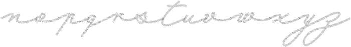 Mina Shadow otf (400) Font LOWERCASE