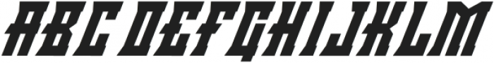 Minacious Italic otf (400) Font LOWERCASE