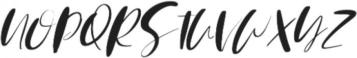 Mindfully Alternate Italic ttf (400) Font UPPERCASE