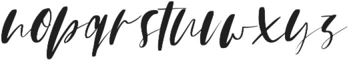 Mindfully Alternate Italic ttf (400) Font LOWERCASE