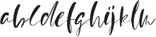 Mindfully Alternate ttf (400) Font LOWERCASE