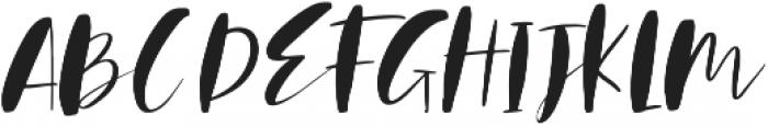 Mindfully Regular ttf (400) Font UPPERCASE