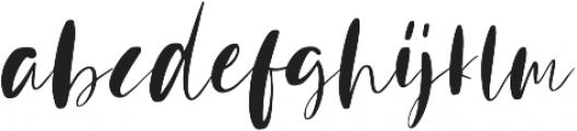 Mindfully Regular ttf (400) Font LOWERCASE