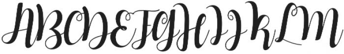 Mindless Stunner otf (400) Font UPPERCASE