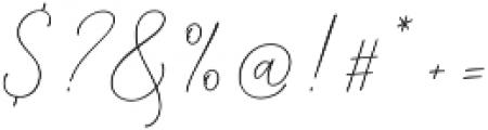 Mindline Script Bold Regular otf (700) Font OTHER CHARS