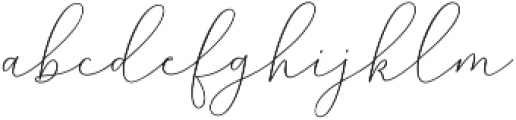 Mindline Script Bold Regular otf (700) Font LOWERCASE