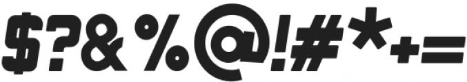 Minersville Oblique otf (400) Font OTHER CHARS