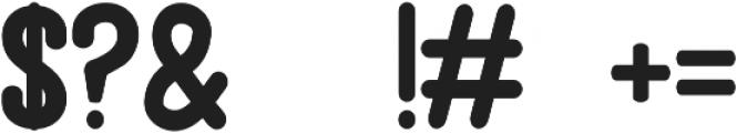 Mingus otf (400) Font OTHER CHARS