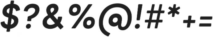 Minimo Bold Oblique otf (700) Font OTHER CHARS
