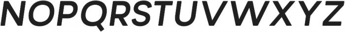 Minimo Bold Oblique otf (700) Font UPPERCASE