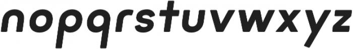 Minimo Bold Oblique otf (700) Font LOWERCASE