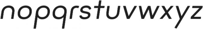 Minimo Regular Oblique otf (400) Font LOWERCASE
