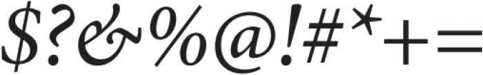 MinionPro-It otf (400) Font OTHER CHARS