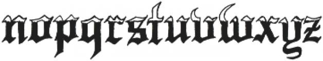 Minnesota Winter ttf (400) Font LOWERCASE
