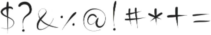 MinnesotaSolid Regular otf (400) Font OTHER CHARS