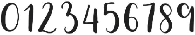 Minnie Regular otf (400) Font OTHER CHARS