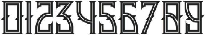 Minoru line otf (400) Font OTHER CHARS