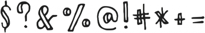 MirabelleSlate otf (400) Font OTHER CHARS
