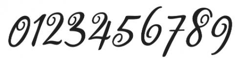 Miracella otf (400) Font OTHER CHARS