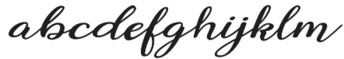 Miracella otf (400) Font LOWERCASE