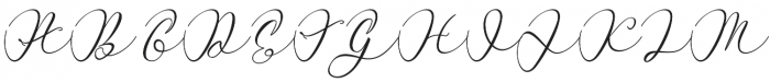 Miracle otf (400) Font UPPERCASE